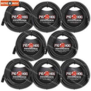 PIG HOG 50/' Ft Microphone Cable XLR Lifetime 8mm Tour Grade PHM50
