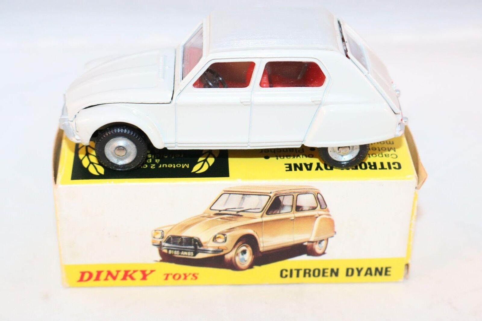 Dinky Toys 1413 Citroen Dyane grau perfect mint in very near mint box