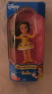 Rare-Disney-Princess-My-First-Princess-Belle-Doll-From-Mattel-2002-NEW-t279