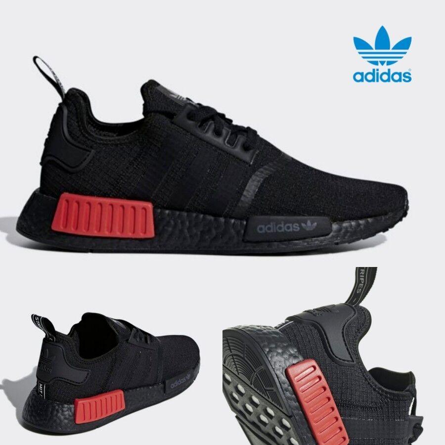 Adidas Originals Originals Originals MND R1 Boost scarpe scarpe da ginnastica Trainers B37618 nero SZ 4-12 72c1e2