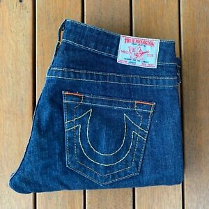 Womens-True-Religion-World-Tour-Johnny-Jeans-Blue-Made-in-USA-Size-28-10
