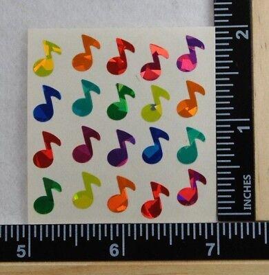 Sandylion MINI PARROTS Stickers PRISMATIC 1 Square VINTAGE NEW