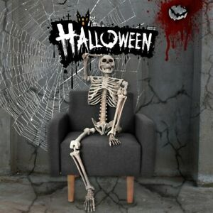 65-034-Full-Body-Skeleton-Model-Props-Movable-Joints-Haunted-House-Halloween-Party