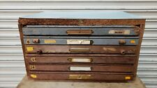 Vintage Letterpress Cabinet With Type 5