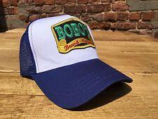 Bobos Beard Company Royal Blue Trucker Baseball Cap Hat Baseball Retro Cool