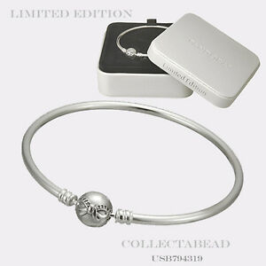 76bfbe2d6 Image is loading Authentic-Pandora-Sterling-Silver-Dainty-Bow-Bangle-Gift-