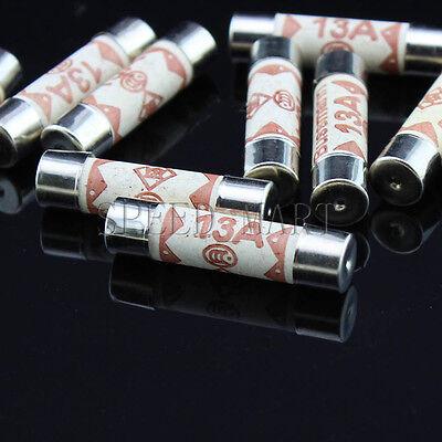 20 pcs Bussmann 6 mm x 25 mm 250 V 5 A BS1362 Céramique Fusible RoHS