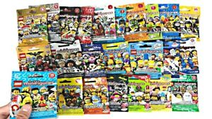 LEGO-Minifigures-Lot-of-5-or-Singles-Blind-Bags-Series-13-14-15-16-Star-Wars