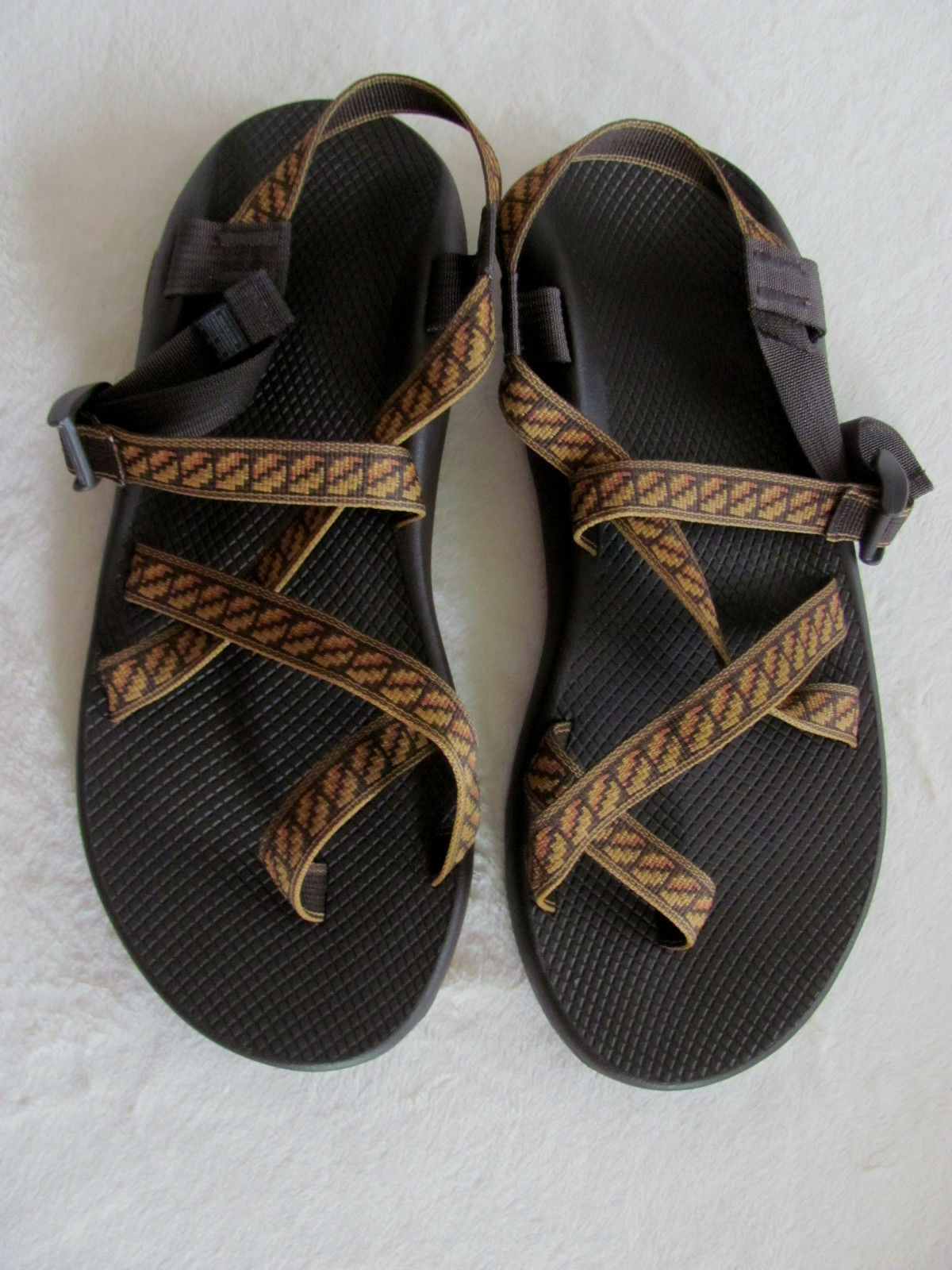 Chaco Z/2 Classic Toe Loop Sport Sandals-Filmstrip Copper -Uomo Taglia 14-EU 47-NIB