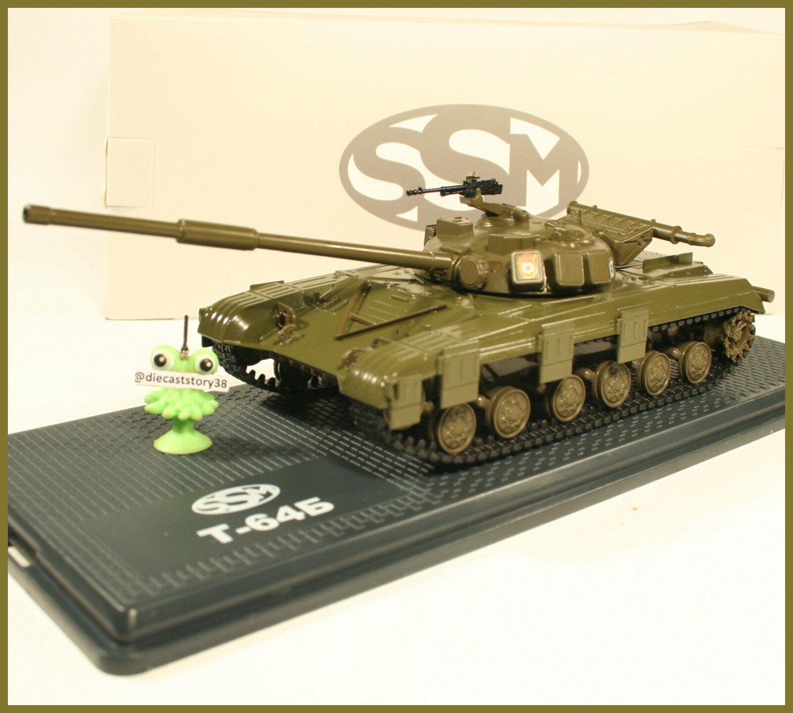 1 43 USSR Tank T-64B -60 Panzer Militär SSM NVA DDR russian UdSSR CA SSM