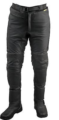 36 Roleff Racewear Lederhose Schwarz
