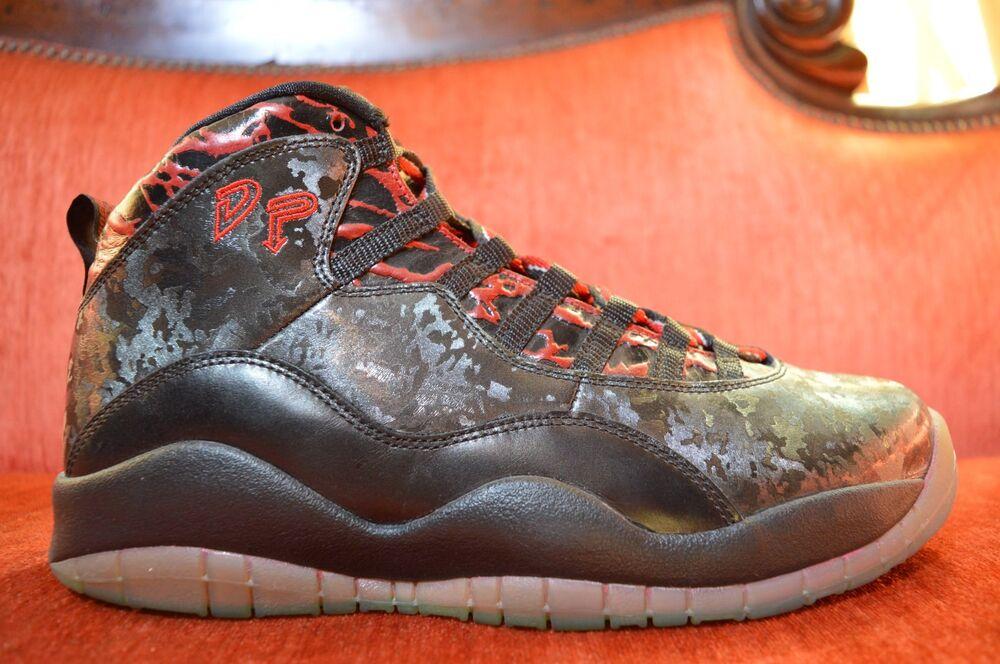 "TIRED ON NIKE Air Jordan 10 X Retro DB ""Doernbecher"" 2013 Size 10 636214-066"