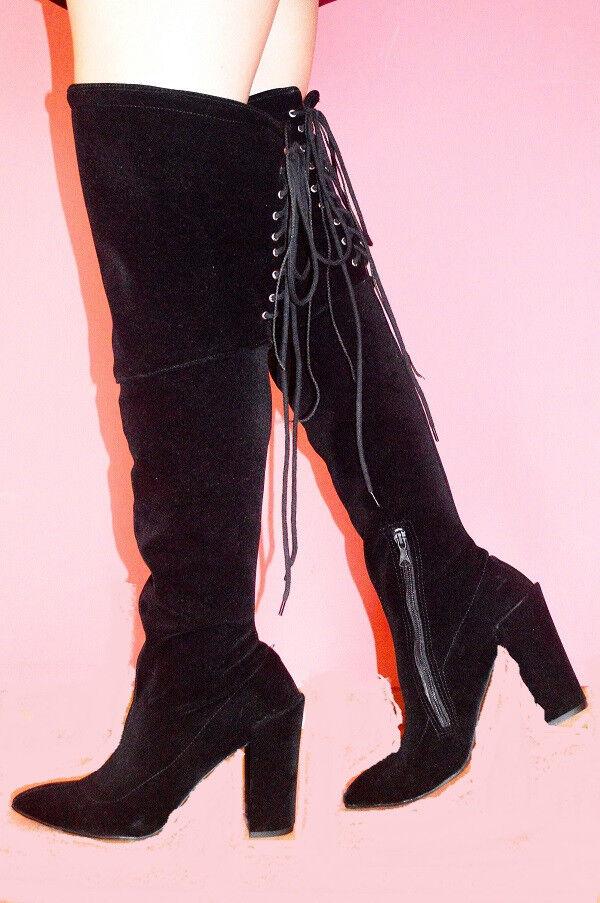 Stiefel kunstwildleder heel 11cm size 37-47-FASHION STYLE Bolingier Poland 1448