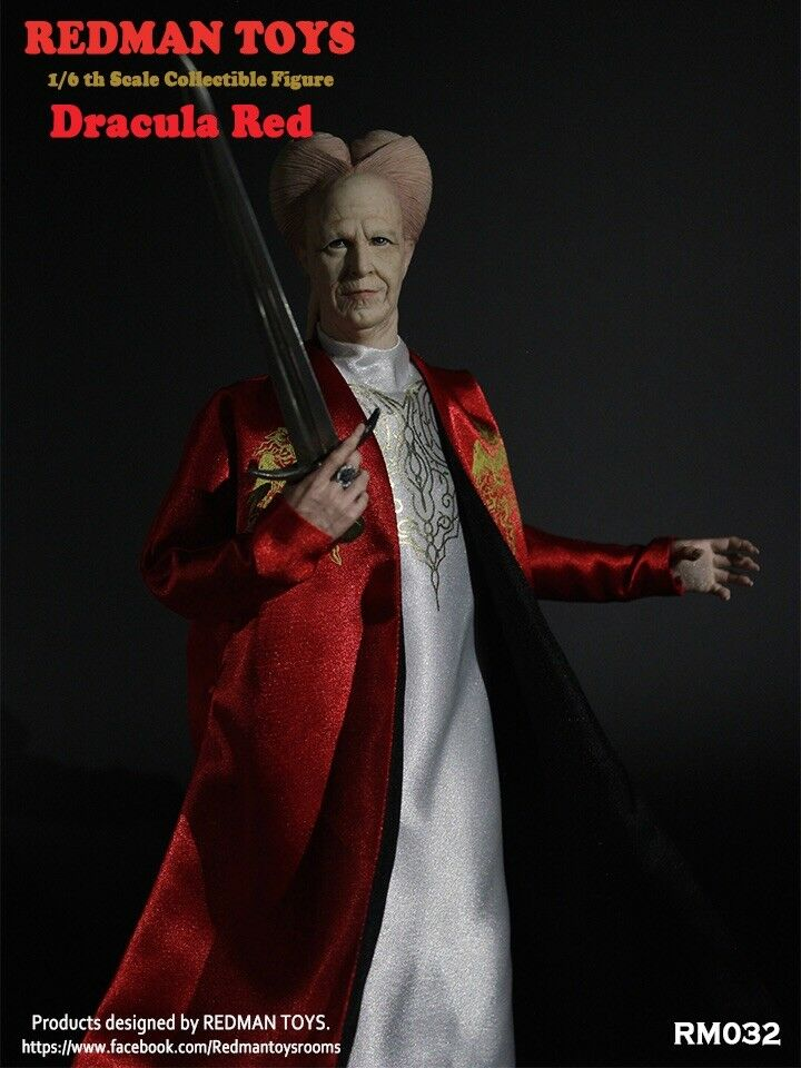 1 6 Scale Collectible Action Figure REDMAN TOYS Dracula red Rainman iminime