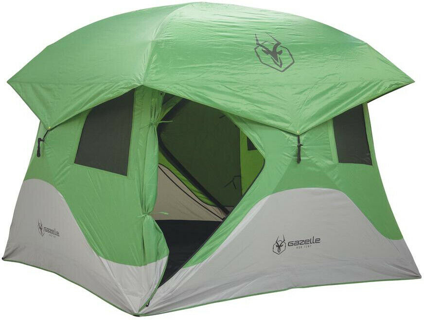 Gazelle campeggio Hub Tent all'aperto PopUp Portable Detachable Floor Panel 3Person