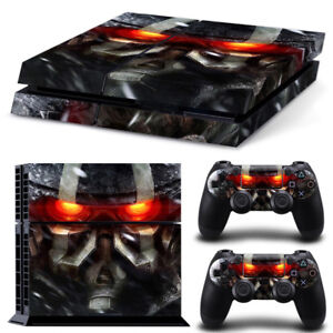 Video Games & Consoles Genteel Kill Zone Ps4 Protective Skin Sticker Set Console And 2 Controllers Faceplates, Decals & Stickers #187 Warm And Windproof