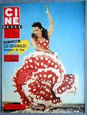 ►CINE REVUE 45/1958-CARMEN SEVILLA-STEWART GRANGER-ROMY SCHNEIDER-MARILYN MONROE
