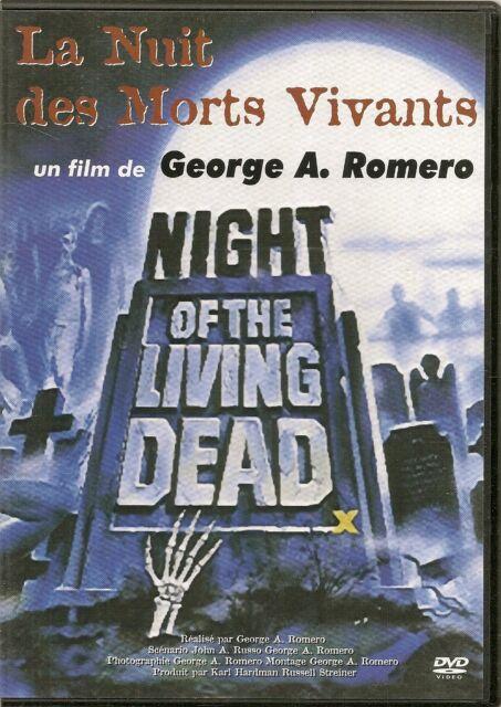 DVD ZONE 2--LA NUIT DES MORTS VIVANTS--GEORGES A. ROMERO