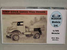 Mirror Models Ltd. 1/35 Scale CMP C15A Lorry Van Truck