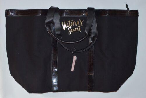 Carry Viaje De Semana On Bolso Secret Victoria's Brillo Fin Getaway Negro xpZpO1