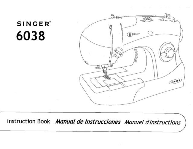 SINGER 40 Sewing Machineembroideryserger Owners Manual EBay Gorgeous Singer Sewing Machine 6038