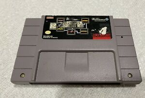 SNES-Super-Nintendo-William-039-s-Arcade-Greatest-Hits-Joust-Defender-II-Sinistar