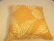 Pacific Coast Feather Cushion throw pillow salmon peach Baer's furniture NEW