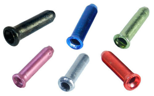 gear and brake in colours 6 x Inner Cable End//Crimps stop cables from fraying