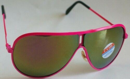 Vintage Aviator neon pink Sunglasses