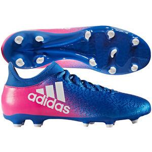 f12247cbd69c adidas X 16.3 FG 2017 Soccer Shoes Cleats New Blue   Pink   White ...