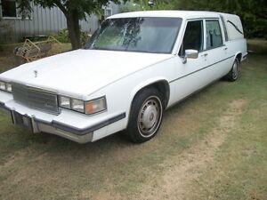 85 Cadillac Fleetwood He Superior Funnel Coach conversion ...