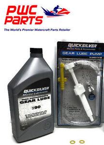 Details about MERCURY Outboard Lower Unit Gear Lube Change Kit 858064Q01  8M0072133 830749