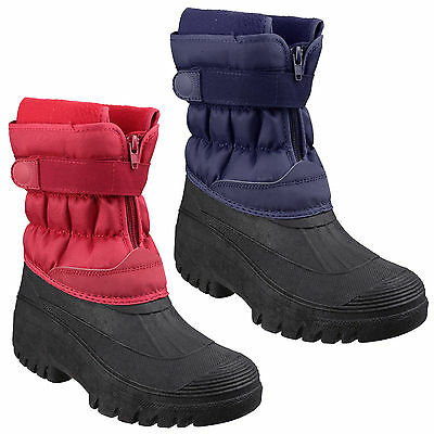 Cotswold Chase Touch Fastening And Zip Up Mens Wellington Winter Boots Uk7-12 SorgfäLtig AusgewäHlte Materialien