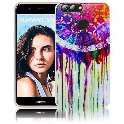 Huawei Nova 2 Silikon Smartphone Handy Hülle Tasche Schutzhülle Case Cover