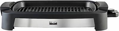 "Bella Pro Series - Countertop Indoor Smokeless 12"" x 16"" Electric Grill - Sta..."