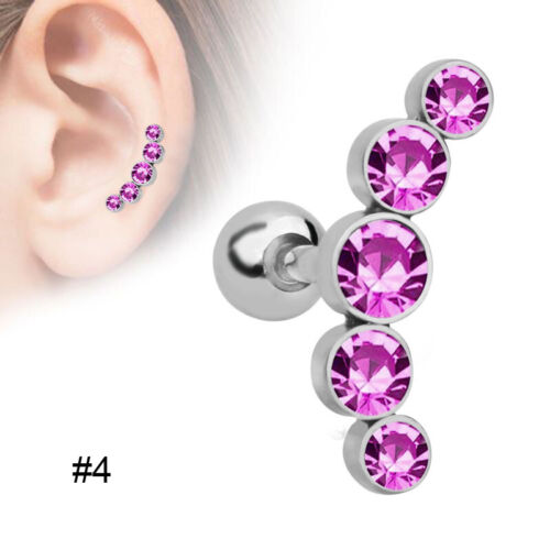 Ear Studs Earrings Dazzling Crystal Rhinestones for Women Girl Birthday Gift