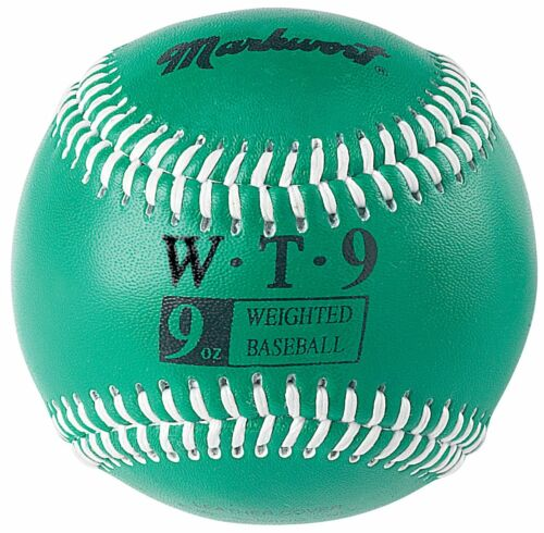 Markwort Weighted Baseballs Leather Cover Color Coded Throwing Training Aids