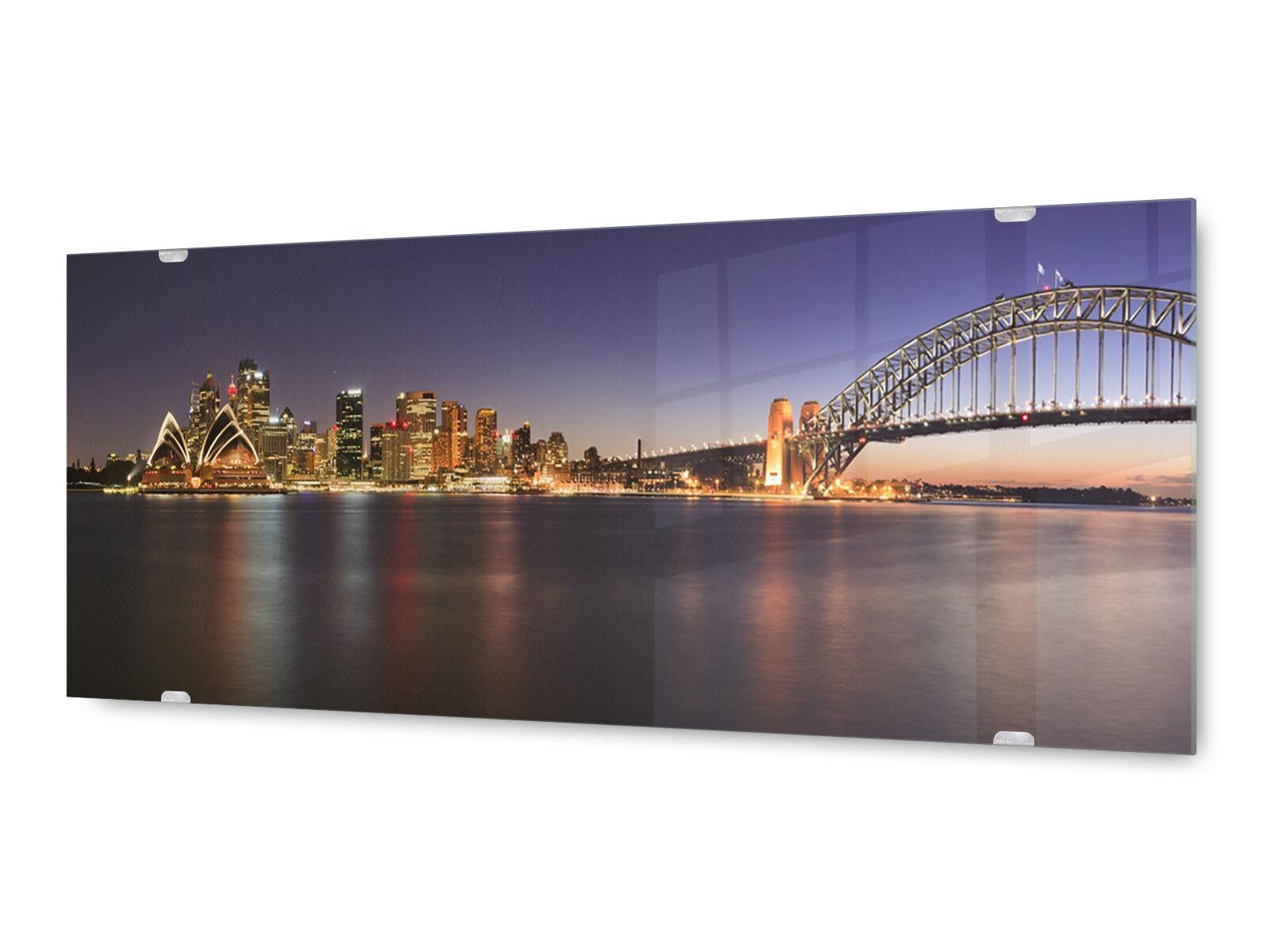 Image la fresque glx12568314420 Harbour Bridge Sydney 125 x 50 cm