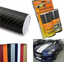 Rotolo adesivo carbonio coppia rotoli strisce.Carbon.Cover auto,moto. Pellicola!