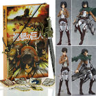 Attack on Titan Shingeki no Kyojin Ackerman Levi Eren Action Figure Keyring Toys