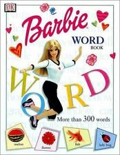 The Barbie Word Book by Catherine Saunders (2001, Hardcover)