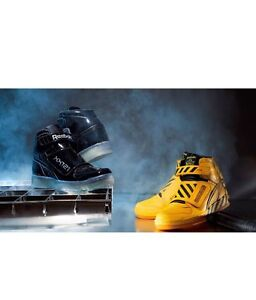 Reebok Alien Stomper Mid Final Scene Battle Pack Black Yellow Size 4 ... 44beef985