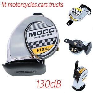 Motorcycle Chrome Horn For Harley Davidson Fatboy Heritage Softail Classic Dyna Ebay