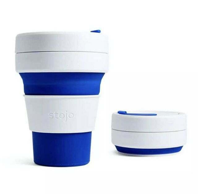 Coffee On The Go Collapsible Silicone Cup
