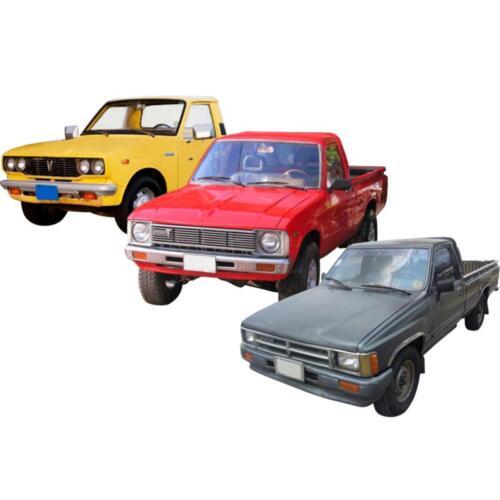 Pair Windows Winder Handle Crank Black Fits Toyota Hilux Pickup 1972-1988