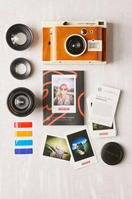 Lomography Lomo'Instant Sanremo Edition 3 Lenses Combo Pack Instant Film Camera