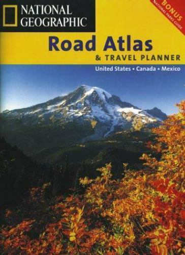 National Geographic Road Atlas 1998 United States, Canada, Mexico Free Shipping