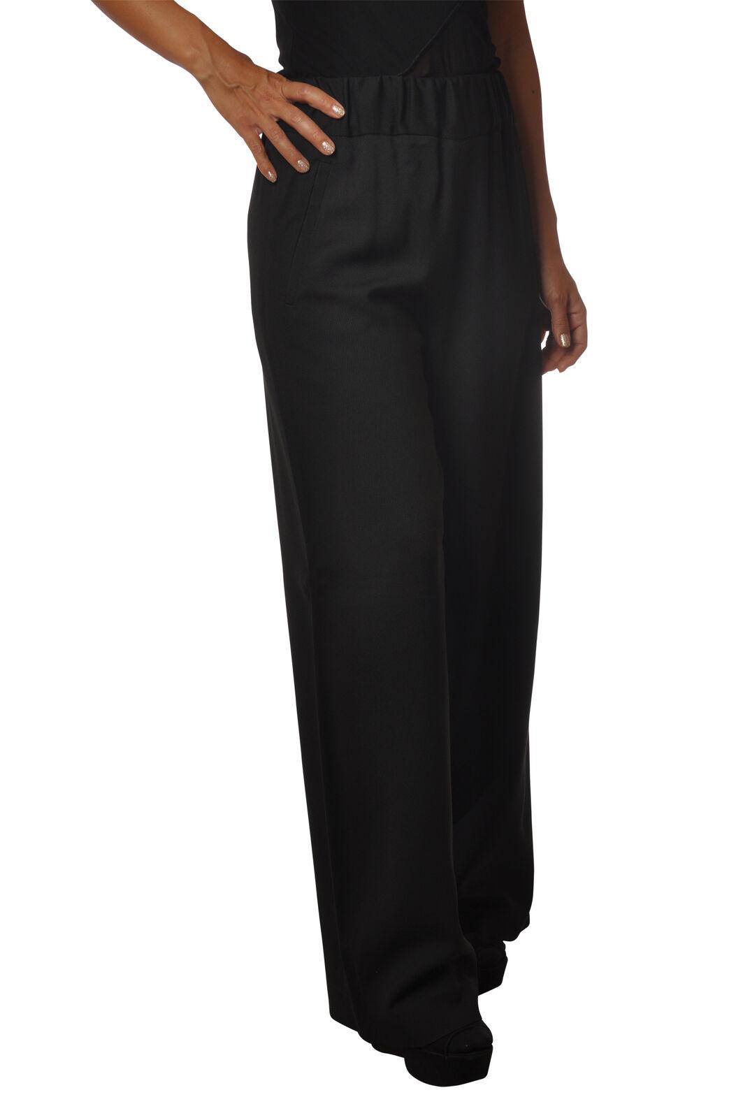 Meme -  Pantaloni-Pantaloni - mujer - negro - 5485311M184503  calidad oficial