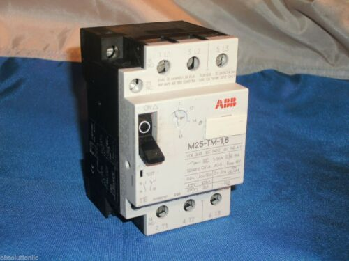 ABB M25-TM-1 6 MANUAL STARTER M25TM1.6