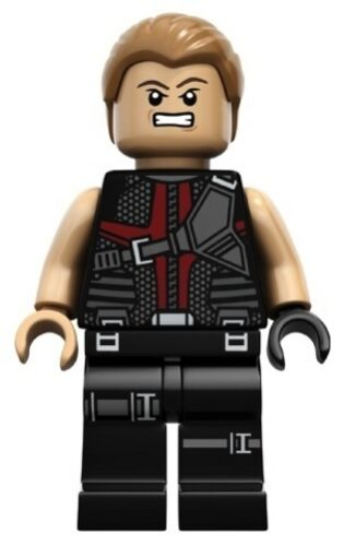 LEGO 6868 HAWKEYE Super Heroes Mini Figure // Minifig